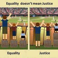Az egyenlőség nem egyezik meg (mindig) az igazságossággal
