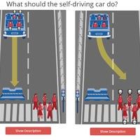 Hogyan döntsön az önvezető autó, ha valakit meg kell ölnie?