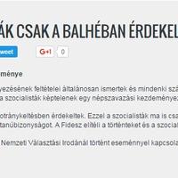Ez elképesztő: a Fidesz elítéli a szocialistákat, és visszautasítja a vádakat