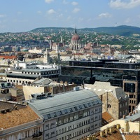 Budapest, fentről lefelé