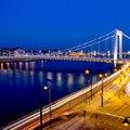 Budapest fényei reggel és este