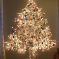 Kreatív változatok karácsonyfára
