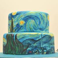 Híres festmények - de tortákon!