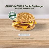 Megkóstoltuk a gluténmentes dupla sajtburgert