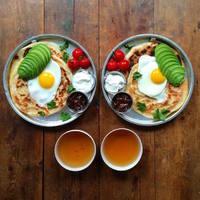 Mit szólnátok egy páros, szimmetrikus reggelihez?