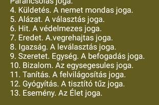 A SZAKRÁLIS VEZETŐK JOGAI