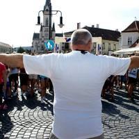 História futás 9 kilométere,  avagy az első futóversenyem otthon