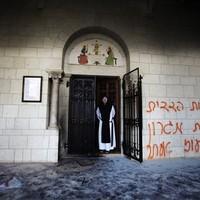 Vandál támadás a szentföldi Latroun-monostor ellen