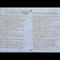 Videó az Olimpiai bajnokok emléktáblájának koszorúzásáról