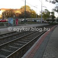 Áthelyezték a 18-as villamos Döbrentei téri megállóhelyét