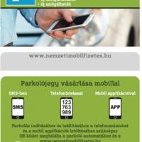 Mobilparkolással kapcsolatos információk