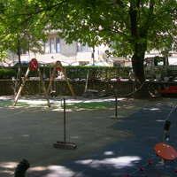 Mária téri játszótér részleges lezárása