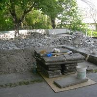 Képek az Alagút tető felújításról