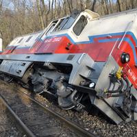 Kisiklott a Gyermekvasút mozdonya, bizonytalan ideig nem közlekednek a vonatok