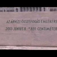 Videó az Árvízi emlékjel avatásáról