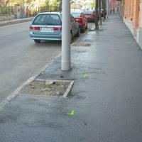 Fahelyek bővítése az Aladár és Zsolt utcában