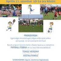 Programajánló: Tavaszköszöntő Sportnap a Czakón