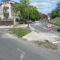 Biztonságosabbá vált a közlekedés az Avar utca - Alsóhegy utca kereszteződésében