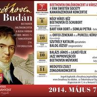 Programajánló: Beethoven emlékkoncertek a Budai Várban