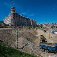 Képek a Széll Kálmán tér építéséről