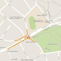 Kábelfektetési munkálatok a Hegyalja út - Czakó utca térségében