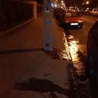 Csőrepedés a Hattyú utcában