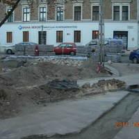 Mária tér, felújítás képekben (2):