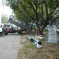 Megkezdődött a Csalogány utcai kutyafuttató építése