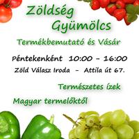 Olvasónktól:  Zöldség és Gyümölcsvásár Krisztinavárosban