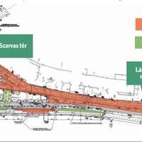Megkezdődik a Lánchíd utca felújítása