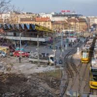 A Széll Kálmán tér felújítása február 16-ától kisebb közműmunkákkal folytatódik