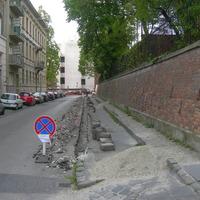 Szegélydöntés miatt megállási tilalom a Donáti utcában