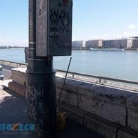 Folytatódik a graffiti-mentesítés az I. kerületben