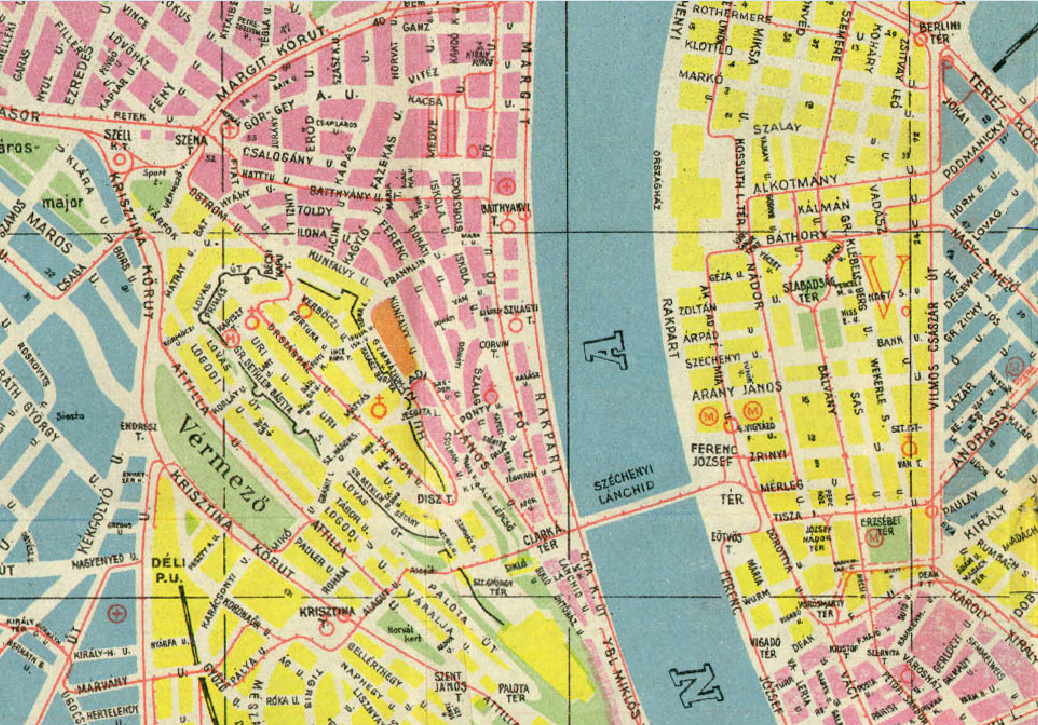 budapest 1 kerület térkép Olvasnivaló: Autóbusz közlekedés a Várban   egyker.blog budapest 1 kerület térkép
