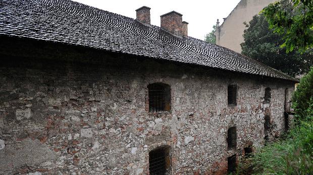 Az egykori Táncsics-börtön épülete az I. kerületi Táncsics Mihály utcában<br />MTI Fotó: Soós Lajos