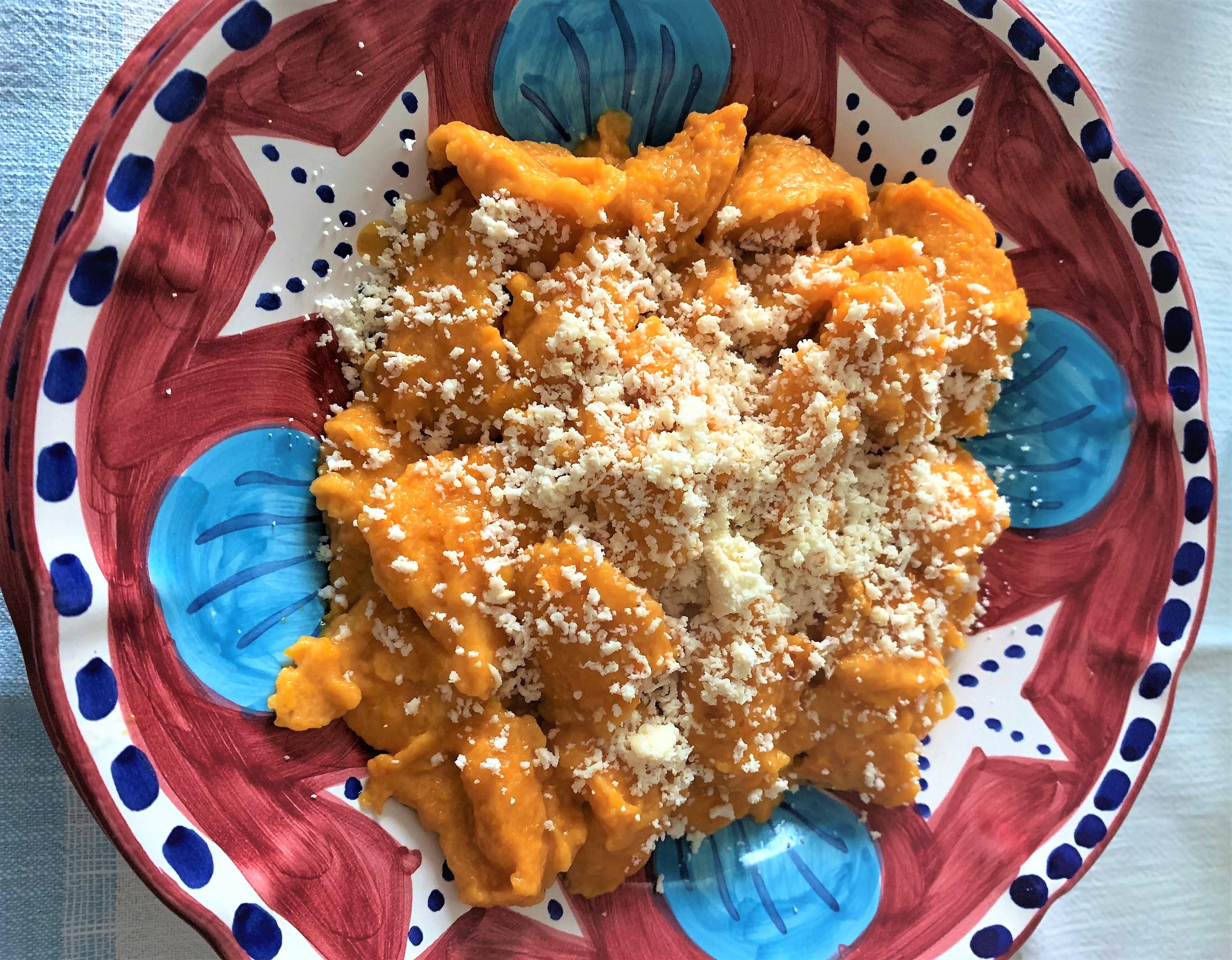 Olasz anyósom őszi szuper receptje: Sütőtökös Gnocchi