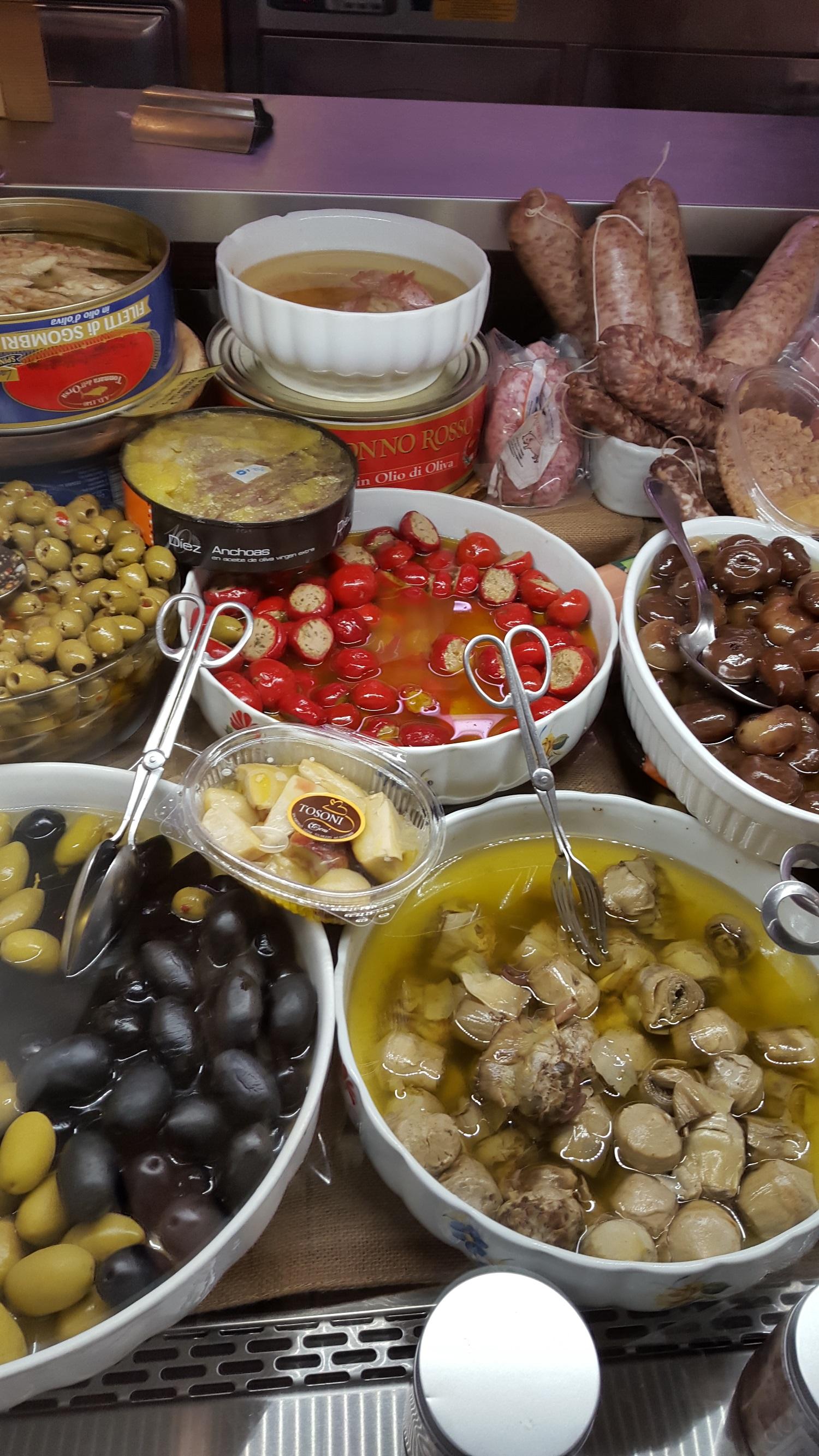 Apró kis finomságok Olasz módra...