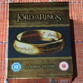 Gyűrűk Ura trilógia bővített változat, angol Blu-ray