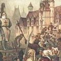 Templomos lovagok kivégzése a XIV. század elején