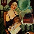 Könyv, zene, kávé, macska