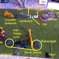 Skaven-Nemes Elf csatajelentés