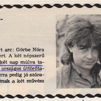 Tini rajongók a gyereknapon 1986-ban