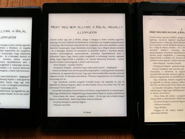 0de8ac5a0 Teszt: Kobo Aura ONE (KA1) - E-könyv olvasók