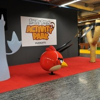 Angry Birds zsonglőrök