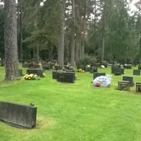 Horogkereszt finn sírokon