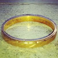 Egy gyűrű a víz alól
