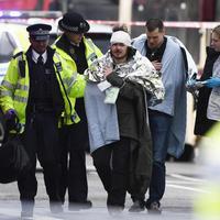 A westminsteri terrortámadás képei