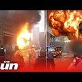 Hatalmas robbanás és tűz volt az Elephant and Castle-nél