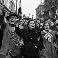 Az 1956-os forradalom hatása az angol politikára