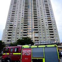 Tűz volt egy toronyházban Edmontonban